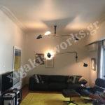 Διαμέρισμα στο Κολωνάκι εσωτερικοί ελαιοχρωματισμοί